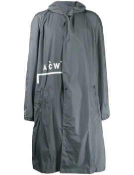 Hooded Raincoat by A Cold Wall*