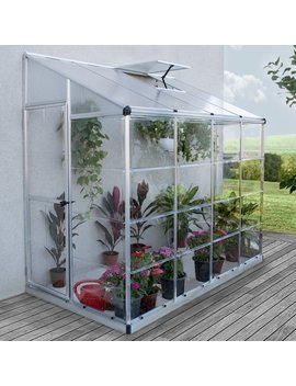 Nature 4 Ft. W X 8 Ft. D Lean To Greenhouse by Palram