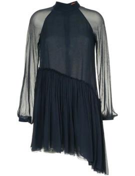 Asymmetric Hem Dress by Manning Cartell