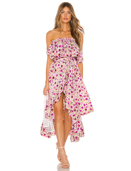 Sabella Dress In Fuchsia Floral by Misa Los Angeles