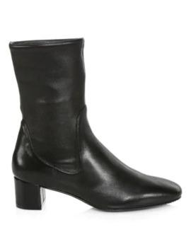 Ernestine Leather Sock Boots by Stuart Weitzman