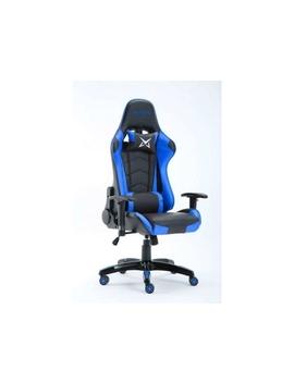 Cadeira Gaming Matrics Osiris (Até 140 Kg   Elevador A Gás Classe 4   Preto E Azul) by Worten