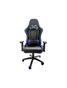 Cadeira Gaming Matrics Excalibur (Até 150 Kg   Elevador A Gás Classe 4   Preto E Azul) by Worten