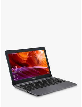 """Asus E203 Ma Fd017 Ts Laptop, Intel Celeron N4000 Processor, 4 Gb Ram, 64 Gb Emmc, 11.6"""" Hd, Star Grey by Asus"""