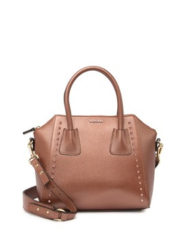 Minimi Preciosa Studded Leather Tote Bag by Valentino By Mario Valentino