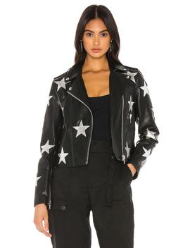 Leather Moto Jacket by Blanknyc