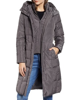 Cole Haan Bib Insert Down & Feather Fill Coat by Cole Haan Signature