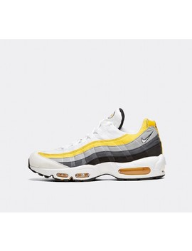 Air Max 95 Trainer | White / White / Amarillo / Grey by Nike