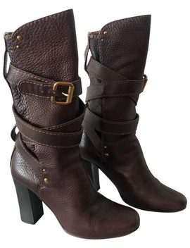 Brown Paddington Boots/Booties by Chloé