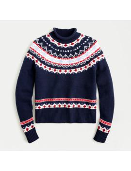 Women's Rollneck™ Sweater In Fair Isle by J.Crew