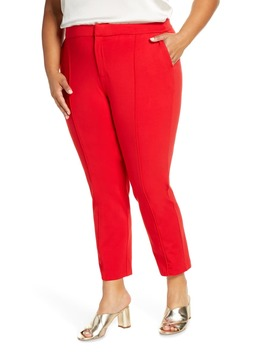 Stretch Knit Ankle Pants by Eloquii