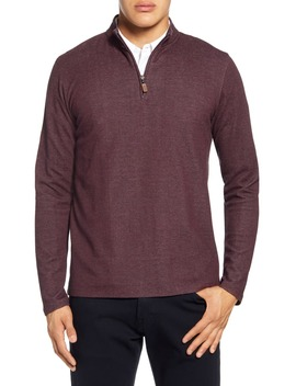 Rivington Quarter Zip Performance Pullover by Mizzen+Main