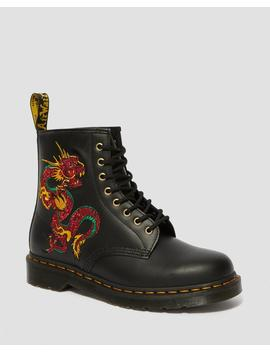 1460 Dragon Embroidered Boots by Dr. Martens