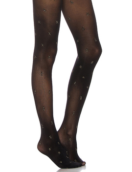 Star Tight In Black Mix by Pretty Polly