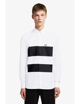 Made Thought Hemd Mit Farbblock Overprint by Fred Perry