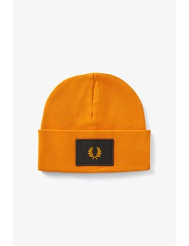 Acid Brights Beanie by Fred Perry