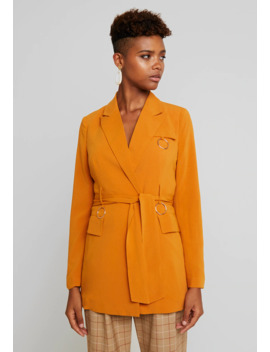 Harrington Belted With Ring Detail   Manteau Court by 4th & Reckless