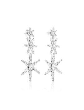 Aurelia Crystal Drop Earrings by Jennifer Behr