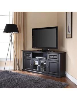 Black 60 Inch Corner Tv Stand by Crosley Furniture