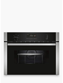 Neff C1 Amg83 N0 B Built In Microwave With Grill, Stainless Steel by Neff