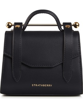 Micro Allegro Calfskin Leather Tote by Strathberry