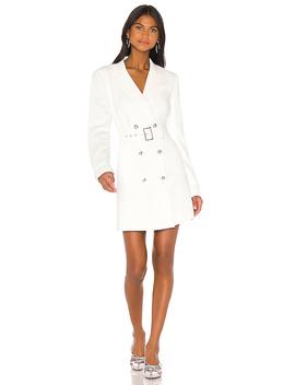 Addy Blazer Dress In Ivory by Bardot