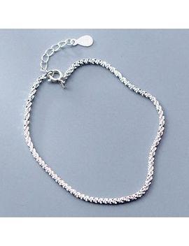 A'roch   925 Sterling Silver Glitter Bracelet by A'roch