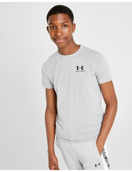 Under Armour Charged Cotton T Shirt Junior by Under Armour