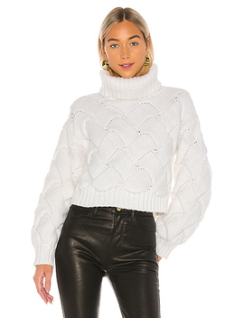 Lilah Turtleneck In Ivory by Lovers + Friends