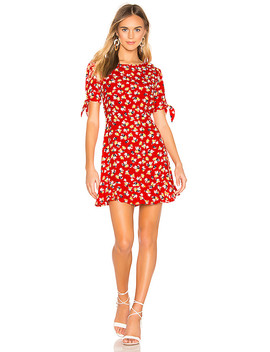 Daphne Dress In Red Jasmine Floral by Faithfull The Brand