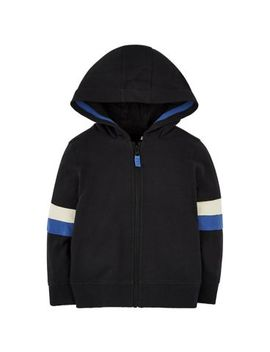 Mini Club Colour Block Zip Through Hoodie by Mothercare