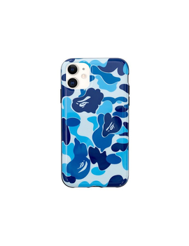Bape Abc Camo I Phone 11 Case Blue by Stock X