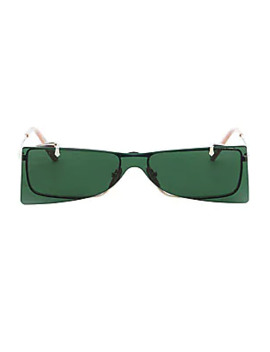 56 Mm Flip Up Sunglasses by Gucci
