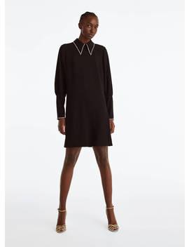 Kleid Mit Strassdetails by Uterqüe