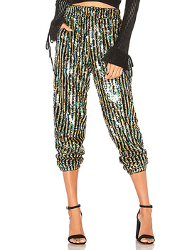 Cara Sequin Pant In Multi by Tularosa