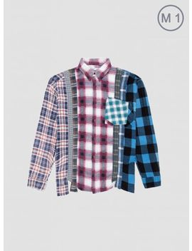 Rebuild Flannel Shirt Multicolour by Needles