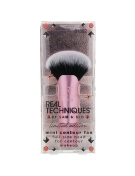 Real Techniques By Samantha Chapman, Limited Edition, Mini Contour Fan Brush, 1 Count by Real Techniques By Samantha Chapman