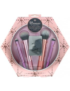 Real Techniques By Samantha Chapman, Limited Edition, Metallic Dimension Brush Kit, 5 Piece Kit by Real Techniques By Samantha Chapman