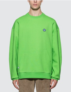 Embroidered Logo Sweatshirt by Ader Error