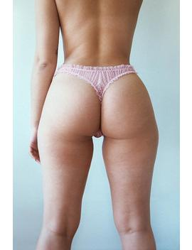 Knickers, Panties, Mesh Panties, Mesh Lingerie, See Trough, Pink Panties, Sheer Lingerie, Sexy Pantie, Pink Lingerie, Bloody Mary Lingerie by Etsy