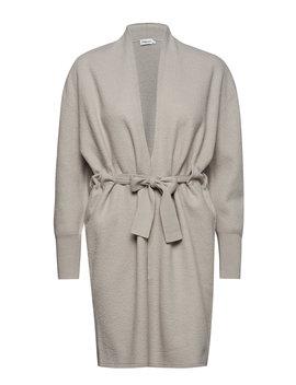 Boiled Wool Coat Cardigan by Filippa K