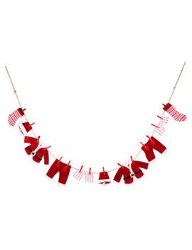 6ft. Santa Clothes Line Garland By Ashland® by Ashland