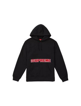 Supreme Blockbuster Hooded Sweatshirt Black by Stock X