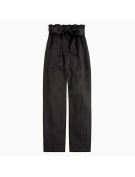 Paperbag Pant In Tencel™ Lyocell by J.Crew