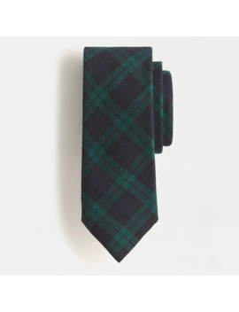 Wool Tie In Black Watch Tartan by J.Crew
