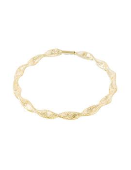 Rajita 9k Yellow Gold Bracelet by Diamond & Co.