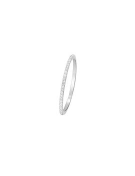 Simply You White Gold 0.08ct Ring by Diamond & Co.