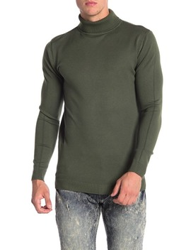 Ribbed Turtleneck Sweater by Xray