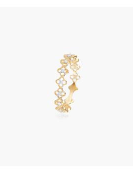 Alicante Diamond & Yellow Gold Ring by Diamond & Co.