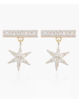 Stuga 9k White Gold Earrings by Diamond & Co.